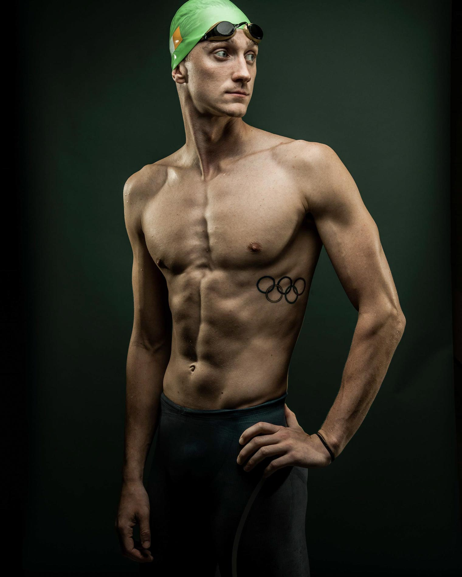 Shane Ryan PSU 2016 Olympic Swimmer for Ireland
